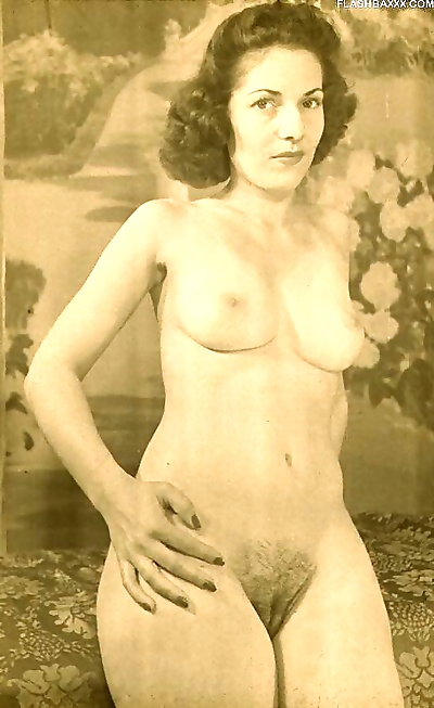 Classic vintage babes posing..