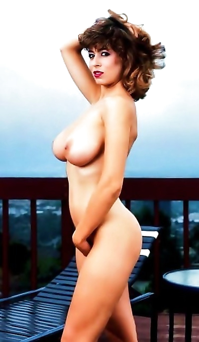 Christy canyon shows off her..
