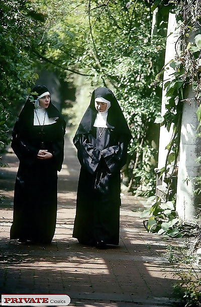 Nun double fucked in private..