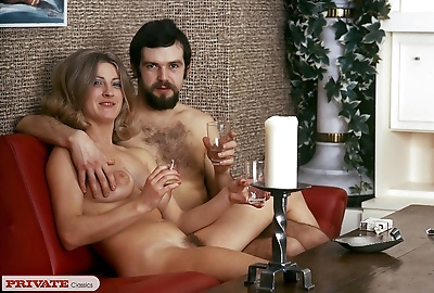 Horny vintage couple fucking in home action - part 856