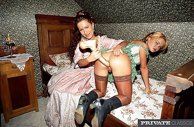 Classic european porn with horny girls at river - part 461