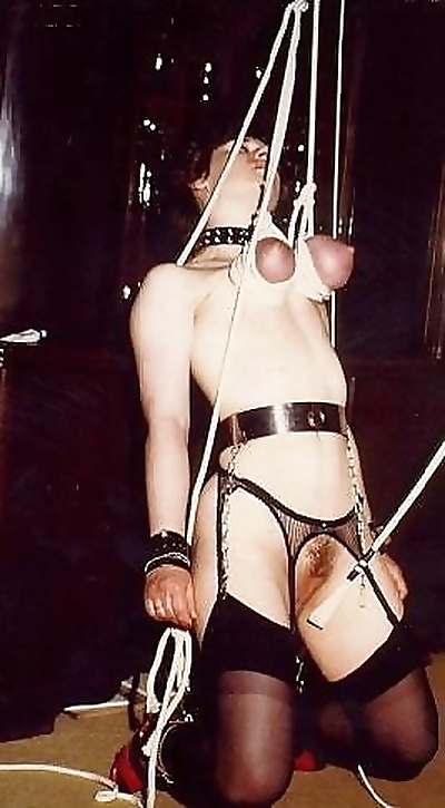 Vintage sex slave in bondage and nipple torture - part 3943